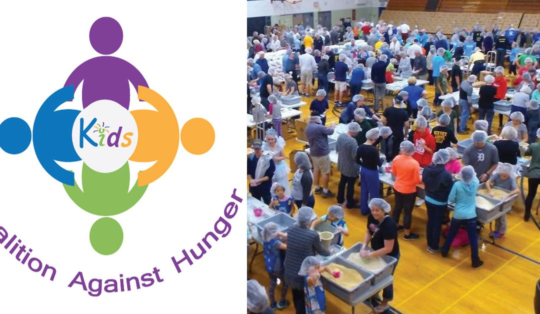 Meal Packing Event for Kids Coalition Against Hunger – Sunday, Jan 19
