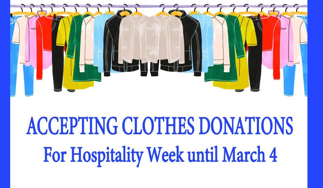 HW Clothes Donations
