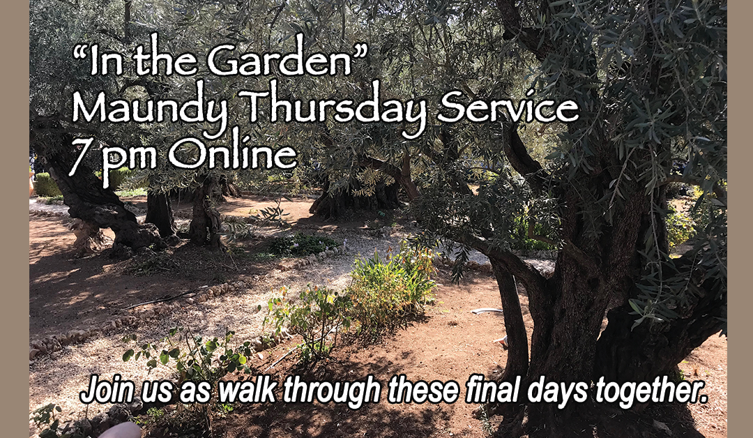 Maundy Thursday Devotion, 7 pm