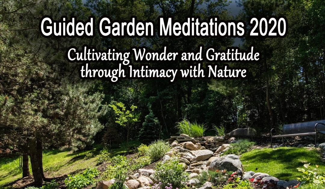 Guided Garden Meditations 2020