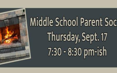 MS Parent Social – Sept 17