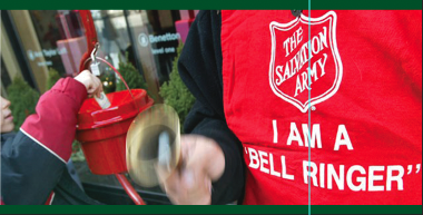 Salvation Army Red Kettle Bell Ringing