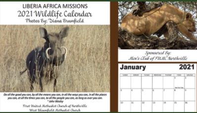 Liberia Calendar Sales