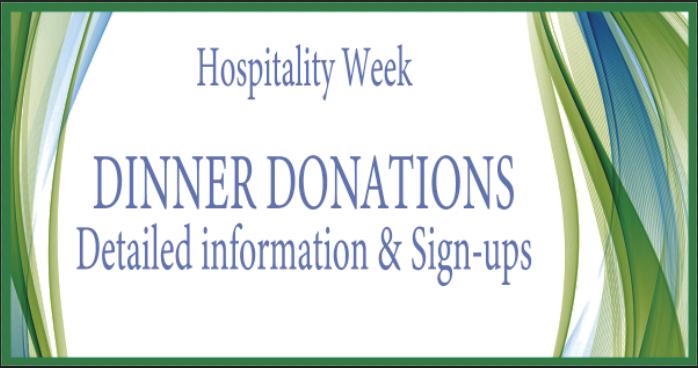 HW Dinner Donations