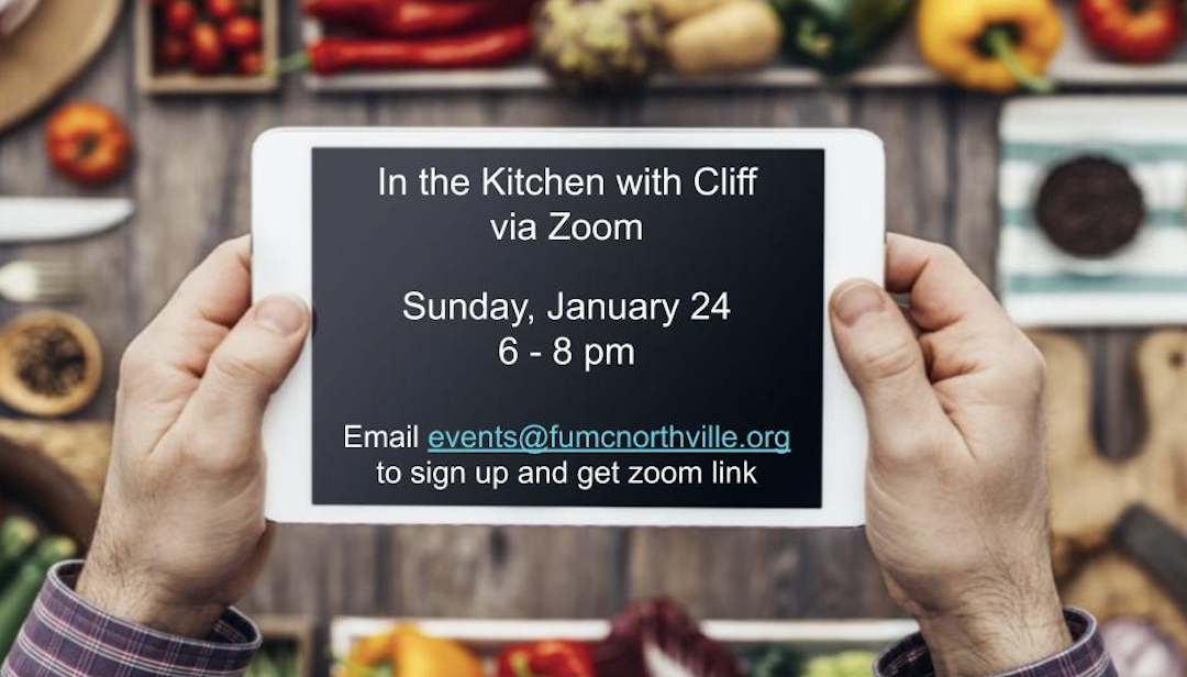 In The Kitchen with Cliff – Jan 24