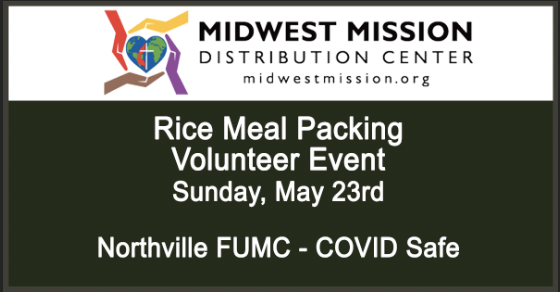 MMDC Meal Packing Event – May 23