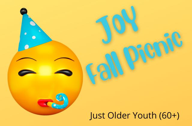 JOY Fall Picnic – Sept 30